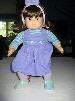 American Girl Doll Bitty Baby Twin Brunette Hair Brown Eyes Girl