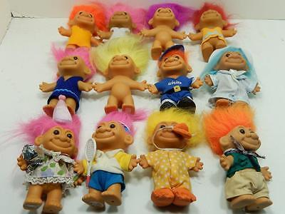 "Russ 4.5"" Assorted Troll Lot Of 12   #3"