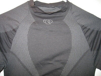Pearl Izumi Compression Muscle Cycle Mountain Bike T Shirt Black Jersey Mens M
