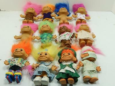 "Russ 4.5"" Assorted Troll Lot Of 12   #6"