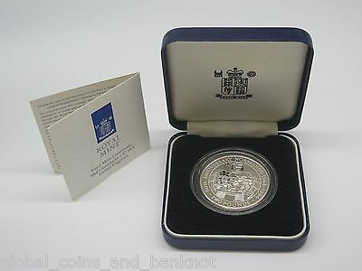 Guernsey - 1994 2 Pound Silver Proof Coin- Anniversary of Normandy