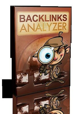 Powerful BACKLINK Software Instantly Analyzes The Quality Of Your Backlinks (CD)