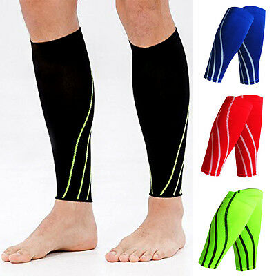 CFR Calf Support Sleeve PAIR - Running, Pain, Shin Splints, Muscle Compression