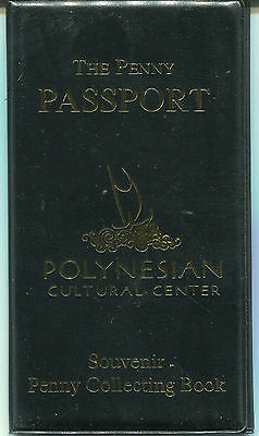 Penny Book - Polynesian Cultural Center - elongated cents - NEW BOOK