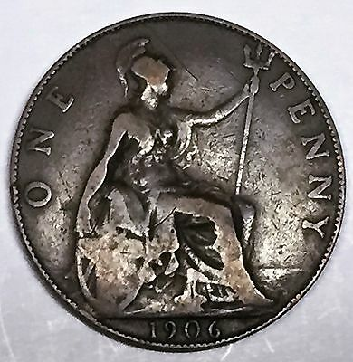 C3549    Great Britain   Coin,    Large Penny    1906