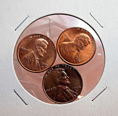 Nice Lot Of 3 United States Coins (Nice Addition To Your Collection).....#12711