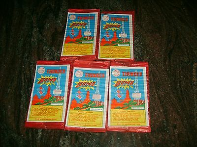 Firecracker Labels Horse Thunder Bomb Pack Labels (5)