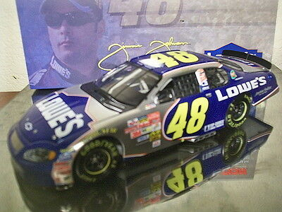 Jimmie Johnson 2003 #48 Lowes 1:24 Action Nascar Diecast - Fresh From Case