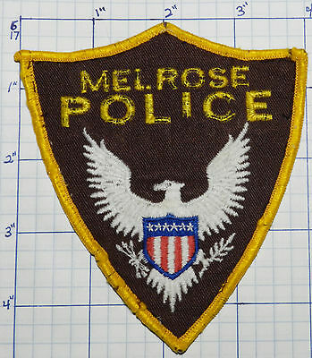 New Mexico, Melrose Police Dept Used Vintage Patch