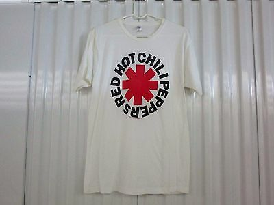 Red Hot Chili Peppers-Logo-Vintage T-Shirt-  Large