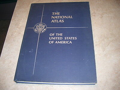 1970 The National Atlas of the United States of America Book