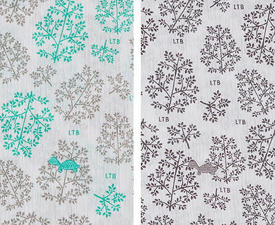 Little Turtle Baby Stretch Cotton Muslin Wrap 2-Pack - Grey/Green