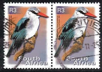 SOUTH AFRICA - year 2000 R3 kingfisher in fu pair