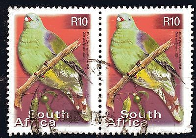 SOUTH AFRICA - year 2000,  10R parrot in fu pair