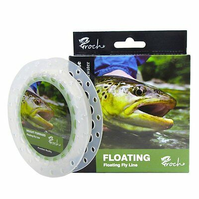 Weight Forward Fly Fishing Line WF 3F 5F 7F 100ft+30lb Backing 50YDS+9ft Leader