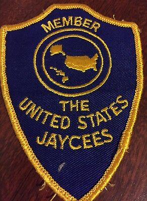 The United States Jaycees Member Patch Vintage Club Patch