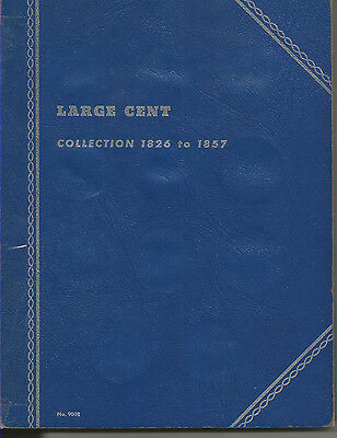 31 Different Large Cent Dates (1826-1856), In Whitman Album!!!