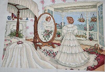 Completed Finished Cross Stitch, Paula Vaughan, From This Day Forward