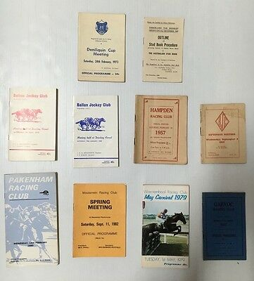 Horse Racing Book Lot Of 9