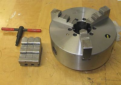 Rdg Tools Shop Soiled 250Mm 3 - Jaw D16 Camlock Self Centering Lathe Chuck