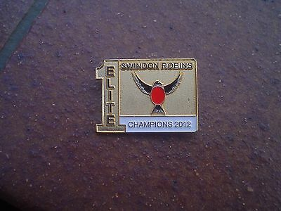 Swindon  2012    Speedway Badge Mint Con In Gold