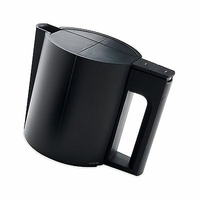 Jacob Jensen designer small electric kettle black 0.6 litre