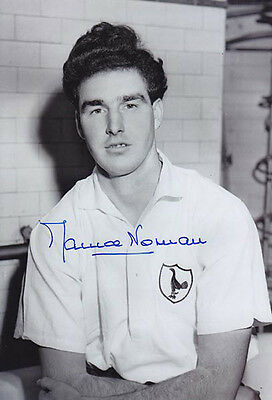 • HAND SIGNED 12x8 PHOTO TOTTENHAM 1955 MAURICE NORMAN