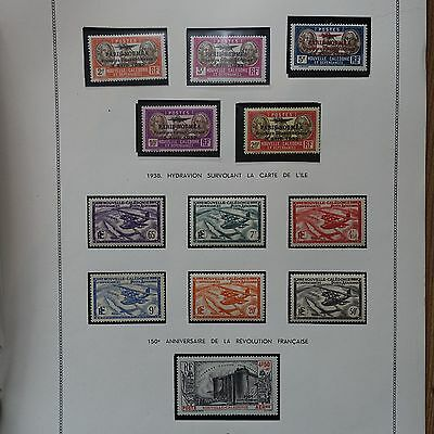 Collection Nouvelle Caledonia 1939/1972 Stamps New / Side