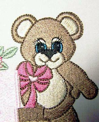 Teddy Love Train 13 Machine Embroidery Designs Cd 2 Sizes