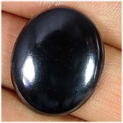 38.90Cts. 100% NATURAL HEMATITE OVAL CABOCHON LOOSE UNTREATED GEMSTONES