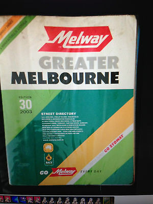 Melway - Greater Melbourne - 2003