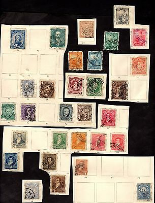 Stamps ~ ARGENTINA ARGENTINIAN ~ Unsorted VERY EARLY