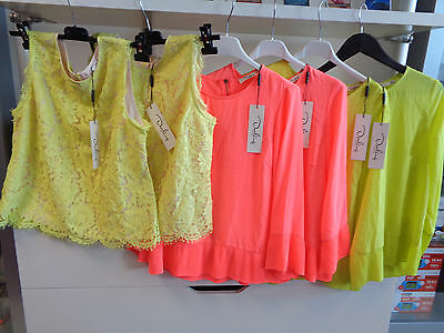 Bnwt Darling London Job Lot 6 X Ladies Summer Colour Tops Ideal Resale