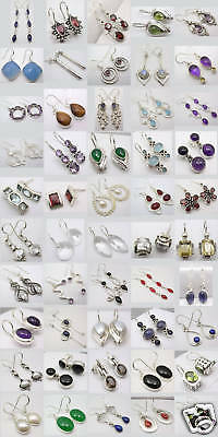 Wholesale Lot! 925 Silver Earrings! 50 Stylish Pairs!