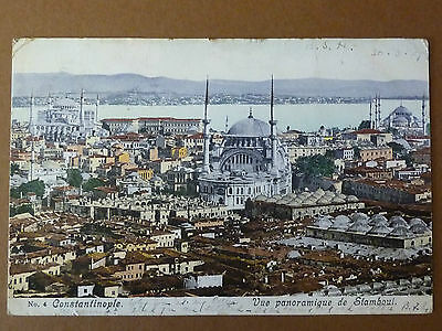 #68 Printed Colour Postcard. Constantinople. Vue Panoramique De Siamboul