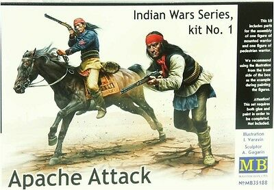 Master Box 35188 Indian War Series  Apache Attack