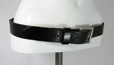 Vintage LEE COOPER classic black leather belt fashion belt M/L Male R15427