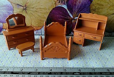 16th scale plastic furniture, possibly Sylvanians