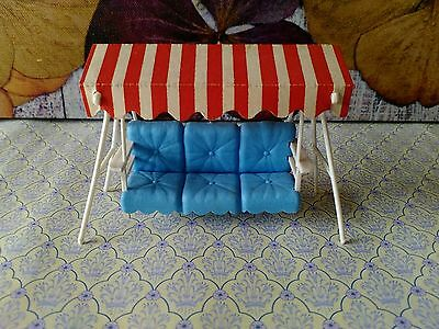 24th scale vintage garden swing chair
