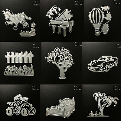 Metal Cutting Dies Stencil DIY Scrapbooking Embossing Album Paper Card Craft H3