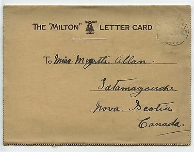Old 1918 Milton Letter Postcard Snapshots of Dover England