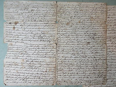 Early 1800's Letter Nova Scotia Shelburne Birchtown Salvery Churches Ministry