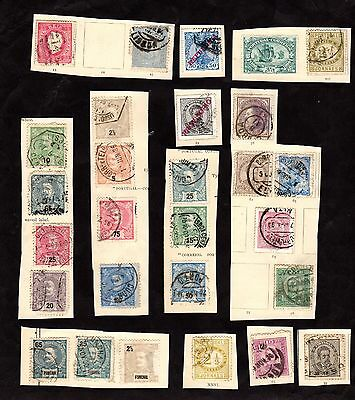 Stamps ~ PORTUGAL AND FUNCHAL, MADEIRA ~ Early Unsorted