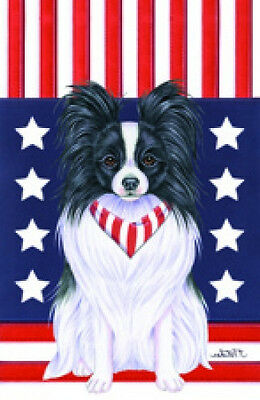 Garden Indoor/Outdoor Patriot (TP) Flag - Papillon 750781