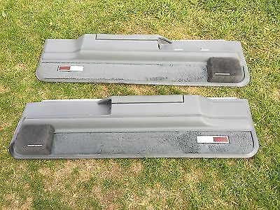 1984 85 86 87 Buick Regal Grand National Lower Door Panels Grey Concert Sound