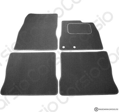 Nissan Note 2012 - Onwards Tailored Carpet Car Floor Mats Black 4pc Set