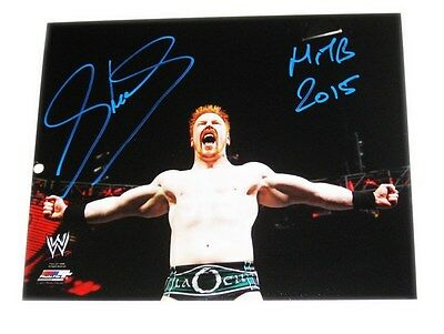 Wwe Sheamus Signed 8X10 Photo File Photo With Exact Proof 18