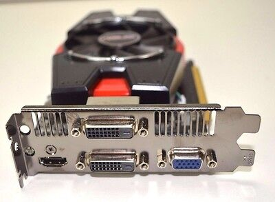 Graphic Card Asus Geforce Gt640 2Gb Ddr3 Dual Dvi Vga Hdmi Pci-E Tested