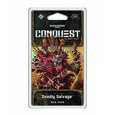 Warhammer 40,000 Conquest LCG Deadly Salvage War Pack - Brand New!