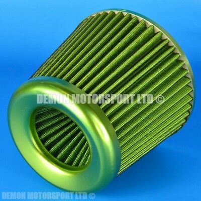 "Universal Performance Cone Air Filter Green For 76mm / 3""  Induction Kit (39086)"